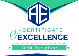 Advisory Excellence 2018 Certificate of Excellence Logo
