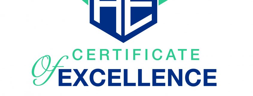 Advisory Excellence Certificate of Excellence LOGO
