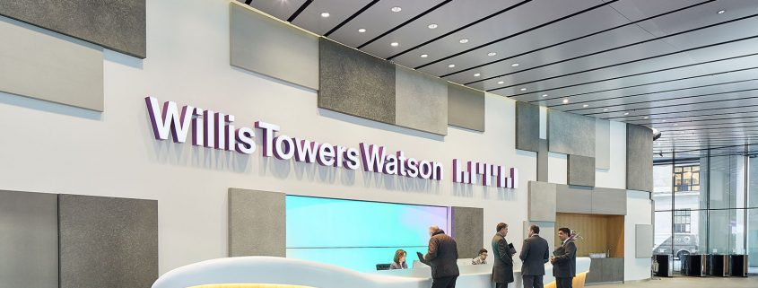Willis Towers Watson Asia Pacific business receives
