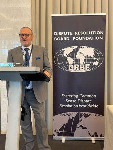 Mr Giovanni Di Folco speaking at the prestigious 2021 event.